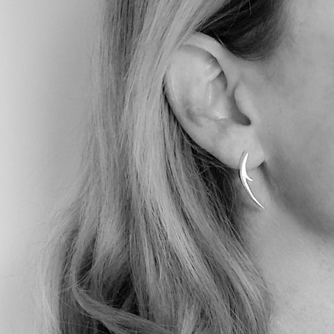 Long Thorn earrings (Silver) - Unavailable until 6th Jan