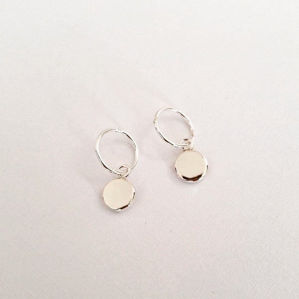 Inner Circle earrings (silver)