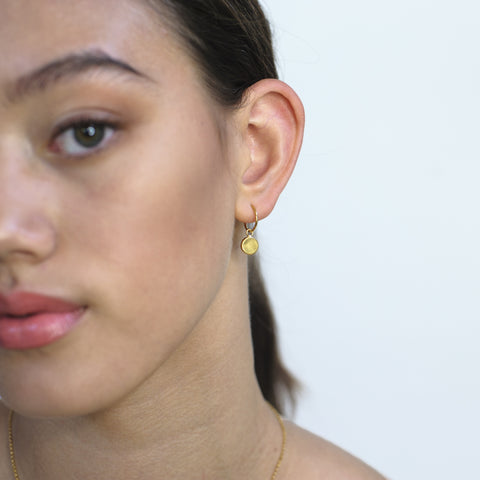 Inner Circle earrings (gold plated)