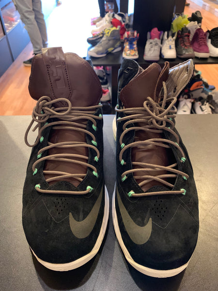 "Size 9.5 Lebron 10 ""Black Suede"""