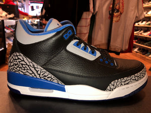 "Size 11 Air Jordan 3 ""Sport Blue"" Brand New"