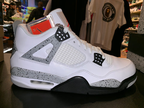"Size 10.5 Air Jordan 4 ""White Cement"" Brand New"