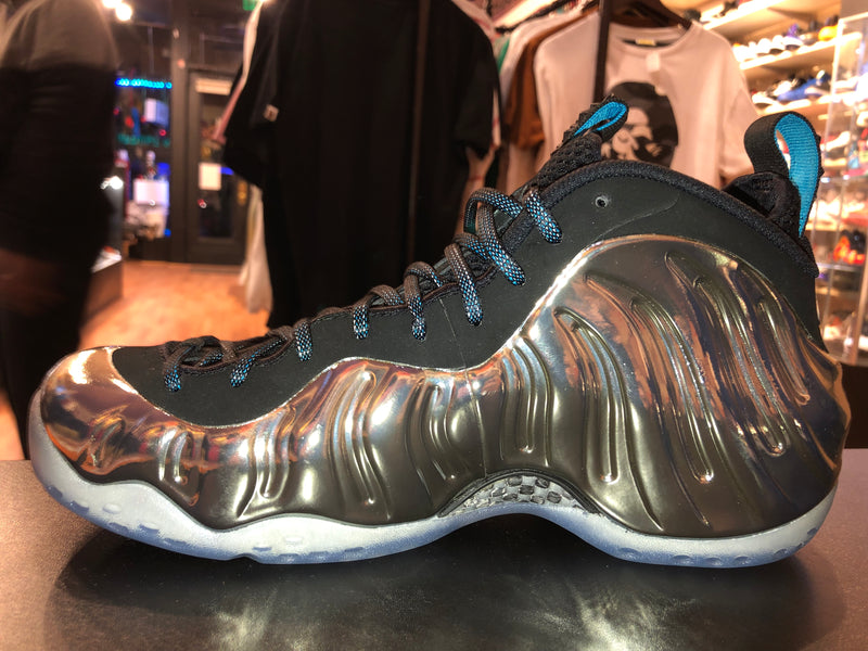 "Size 9.5 Foamposite One AS ""Chromeposite"" Brand New"