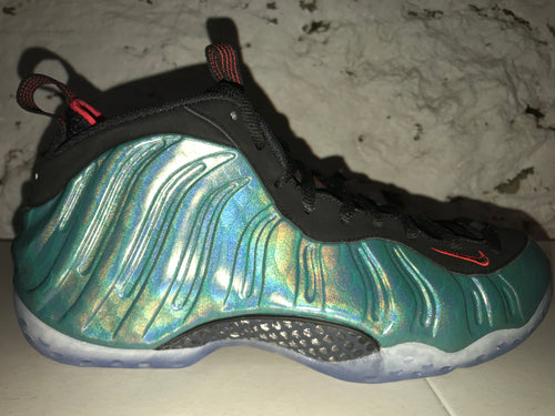 "Size 10.5 Foamposite One ""Gone Fishing"" brand New"