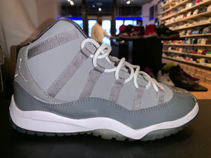 "Size 3Y Air Jordan 11 ""Cool Grey"""