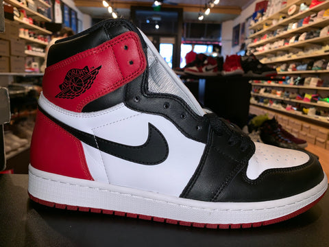 "Size 11 Air Jordan 1 ""Black Toe"""