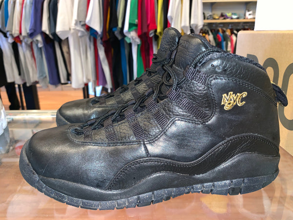 "Size 6Y Air Jordan 10 ""NYC"""