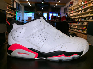 "Size 9 Air Jordan 6 Low ""Infrared"""
