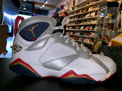 "Size 11.5 Air Jordan 7 ""For the Love of the Game"""