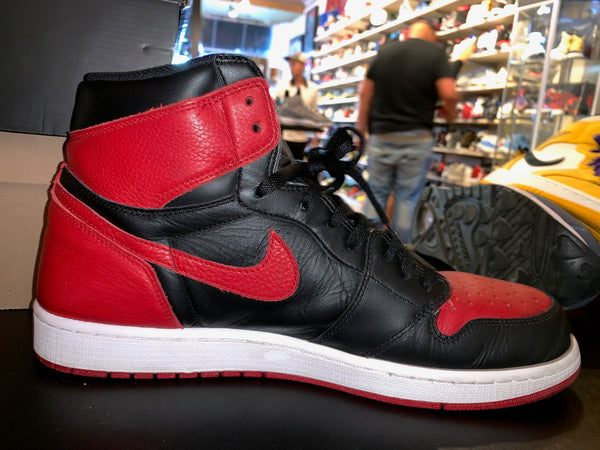 "Size 14 Air Jordan 1 ""Banned"""