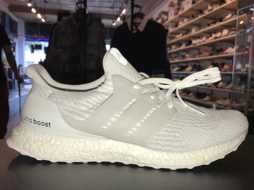 "Size 12 Adidas Ultra Boost ""Triple White"" Brand New"