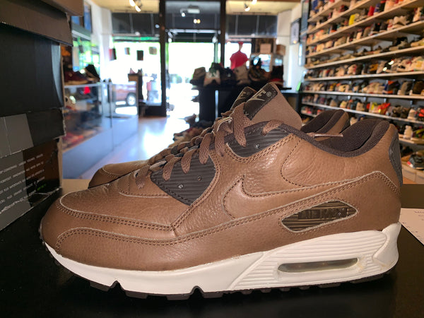 "Size 10.5 Air Max 90 ""Brown Leather"""