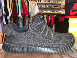 "Size 12 Adidas Yeezy Boost 350 ""Pirate Black"""