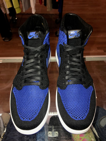 "Size 8.5 Air Jordan 1 Flyknit ""Royal"" Brand New"