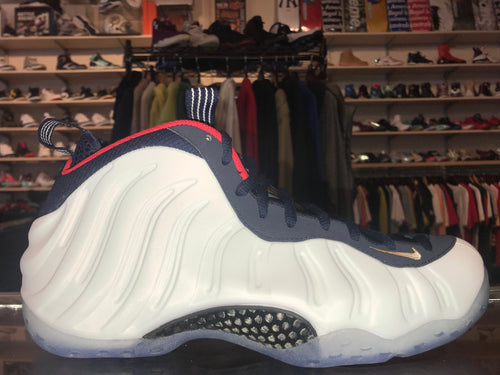 "Size 9.5 Foamposite One ""Olympic"" Brand New"