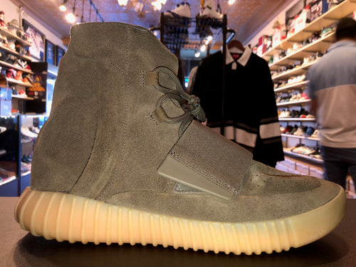 "Size 10.5 Adidas Yeezy Boost 750 ""Chocolate"""