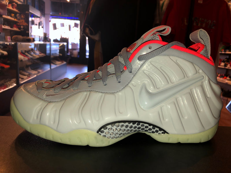 "Size 10 Foamposite Pro ""Pure Platinum"" Brand New"