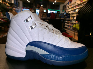 "Size 4Y Air Jordan 12 ""French Blue"" Brand New"