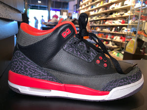 "Size 7Y Air Jordan 3 ""Crimson"""