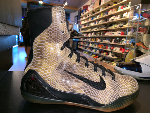"Size 8 Kobe 9 High EXT ""Snakeskin"""