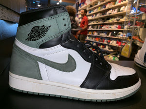 "Size 9 Air Jordan 1 ""Clay Green"""