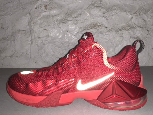 "Size 10 Lebron 12 Low ""University Red"""