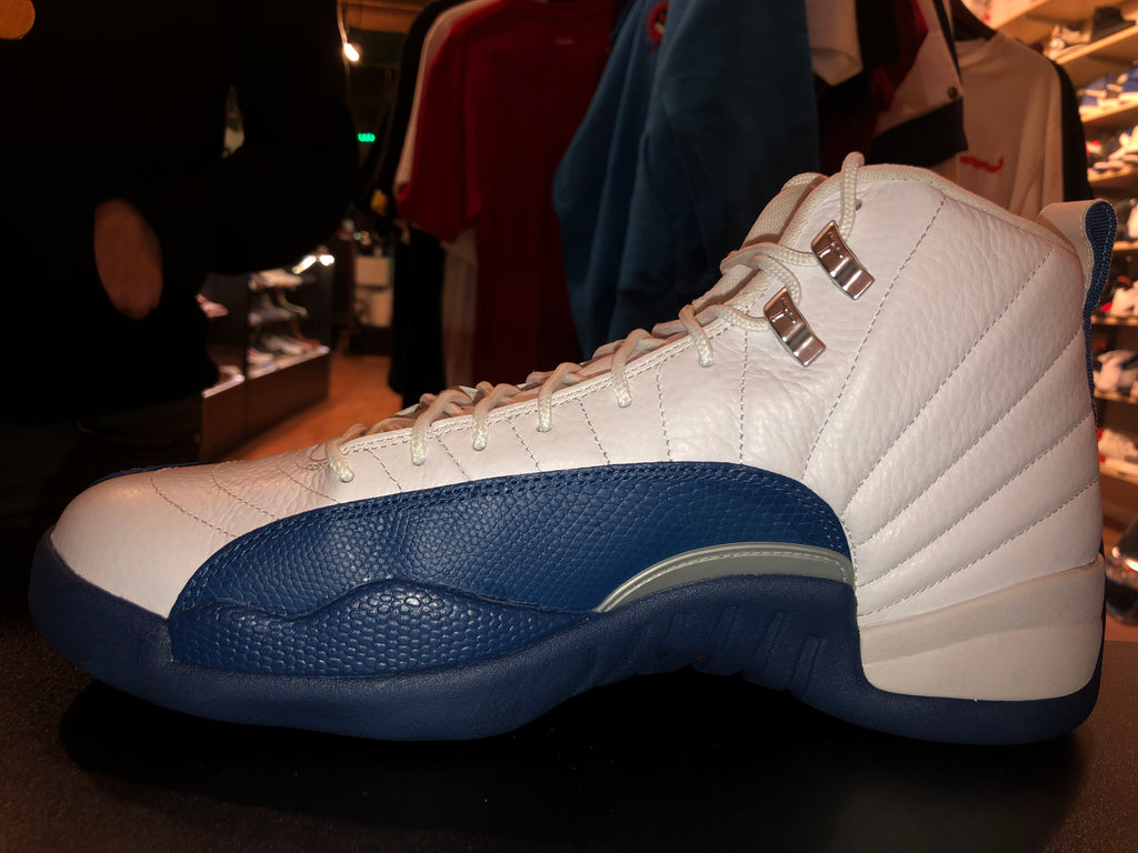 "Size 12 Air Jordan 12 ""French Blue"""