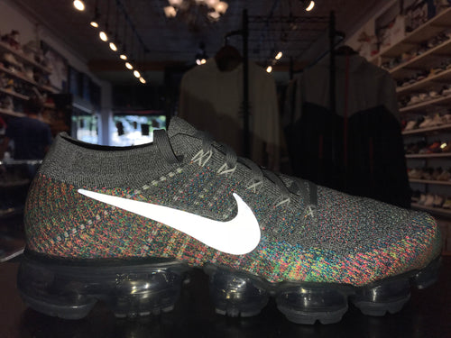 "Size 9 Air Vapormax Flyknit ""Grey Multi Color"" Brand New"