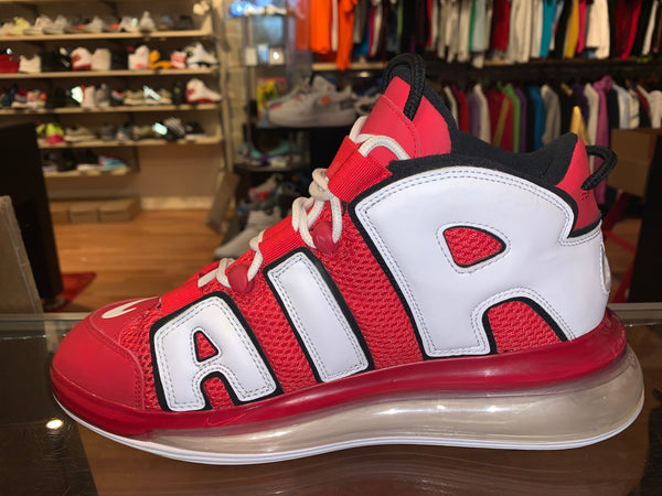 "Size 10 Air Max 720 Uptempo ""University Red"""