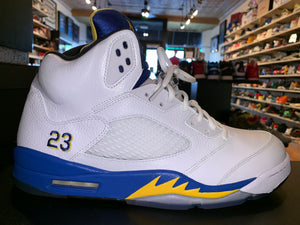 "Size 13 Air Jordan 5 ""Laney"""