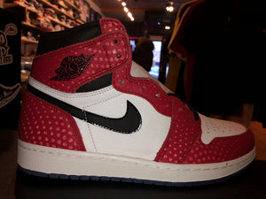 "Size 8 Air Jordan 1 ""Spider Man Origins Story"" Brand New"