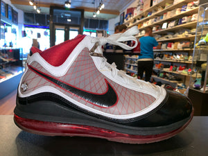 "Size 9.5 Air Max Lebron 7 ""Black/White/Red"""