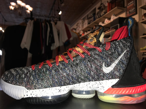 "Size 10 LeBron 16 What The ""1 Thru 5"" Brand New"