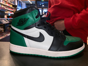 "Size 10 Air Jordan 1 ""Pine Green"""