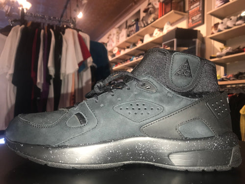 "Size 11.5 Air Mowabb ACG ""Blackout"""
