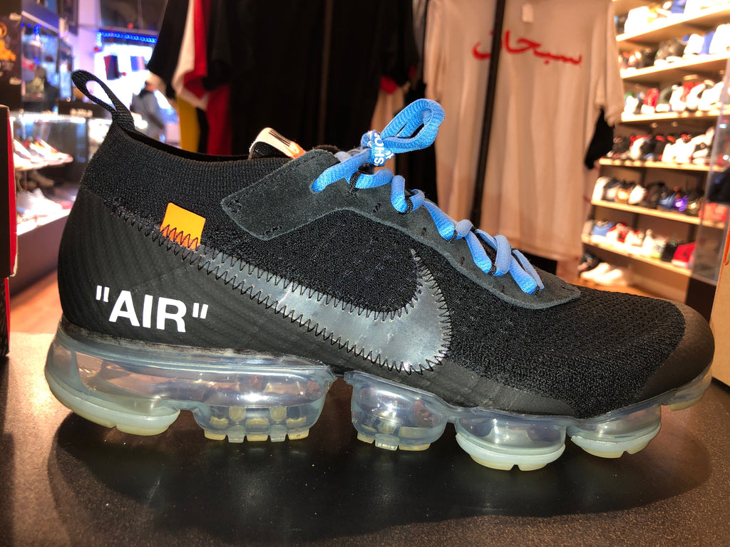 "Size 10.5 Air Vapormax Off White ""Black"""