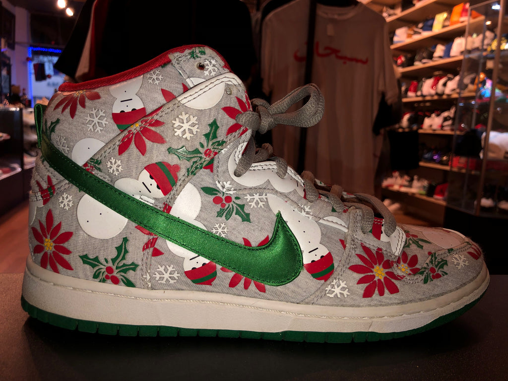 "Size 10 Dunk High SB PRM CNCPTS ""Ugly Sweater"""