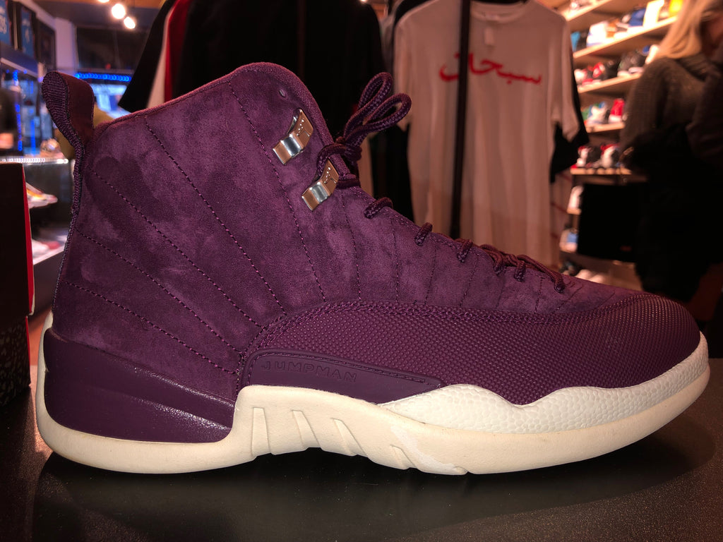 "Size 12 Air Jordan 12 ""Bordeaux"""