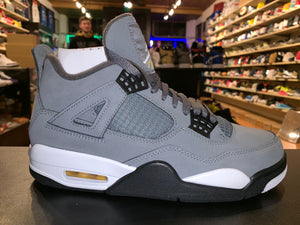 "Size 7 Air Jordan 4 ""Cool Grey"""