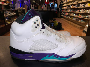 "Size 9.5 Air Jordan 5 ""Grape"""