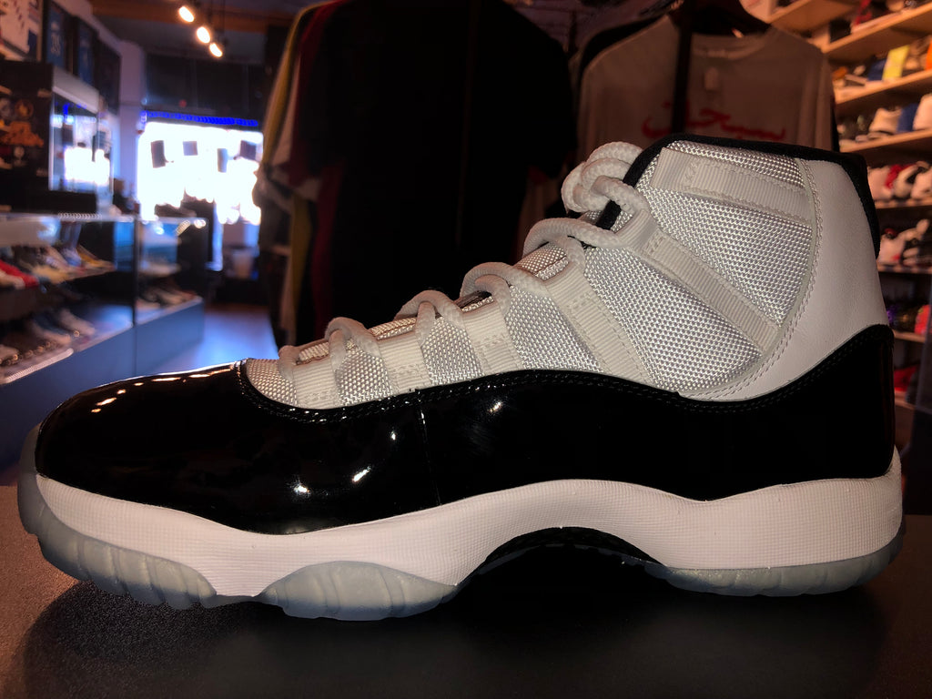 "Size 10 Air Jordan 11 ""Concord"" Brand New"