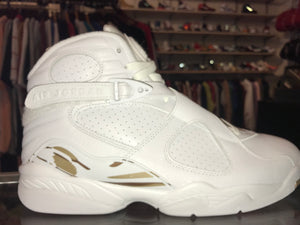 "Size 9.5 Air Jordan 8 OVO '""White"" Brand New"