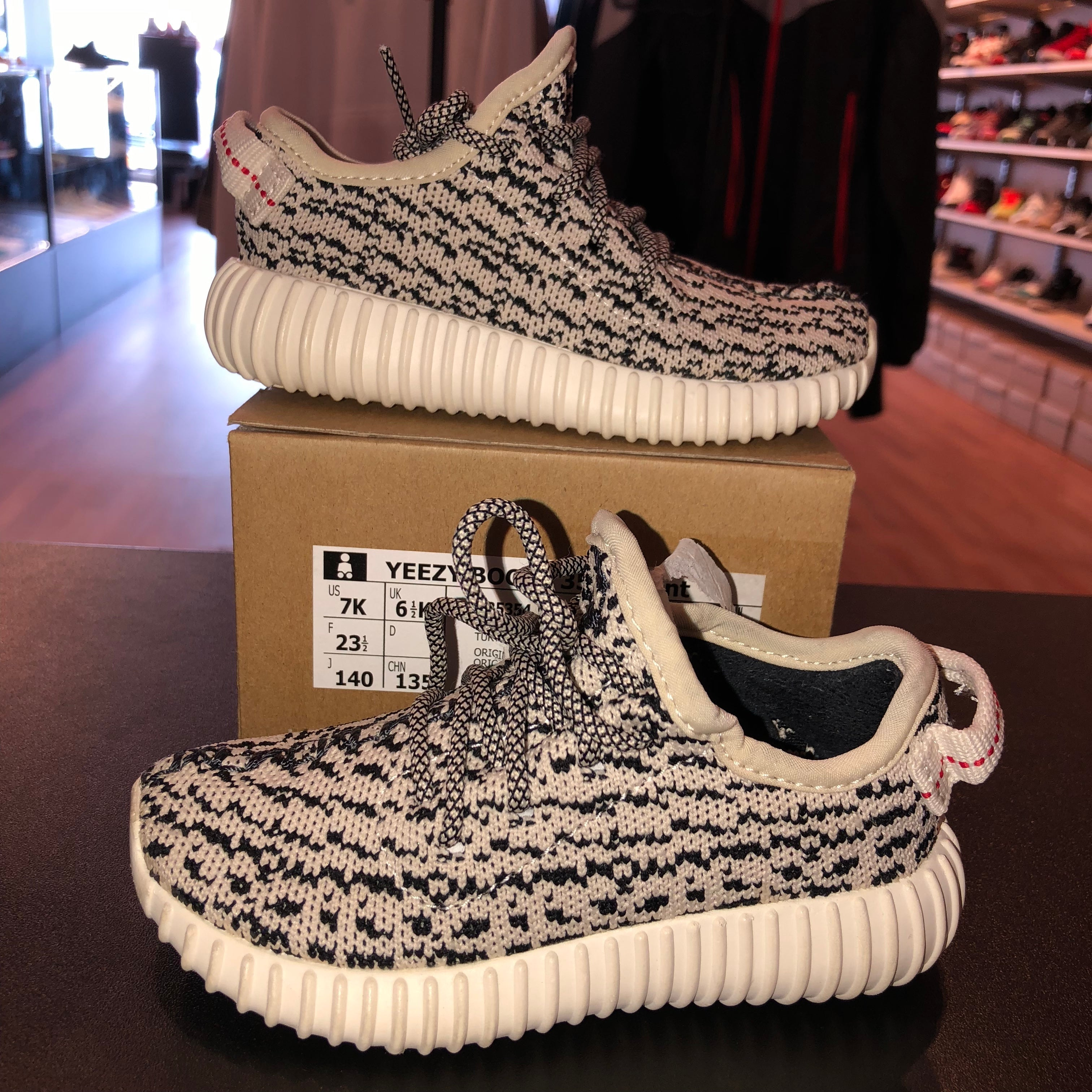 size 7k adidas yeezy boost 350 infant turtle dove direct kicks