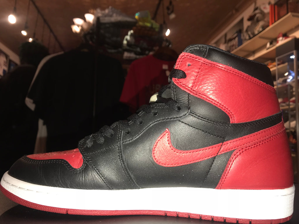 "Size 12 Air Jordan 1 ""Banned"""