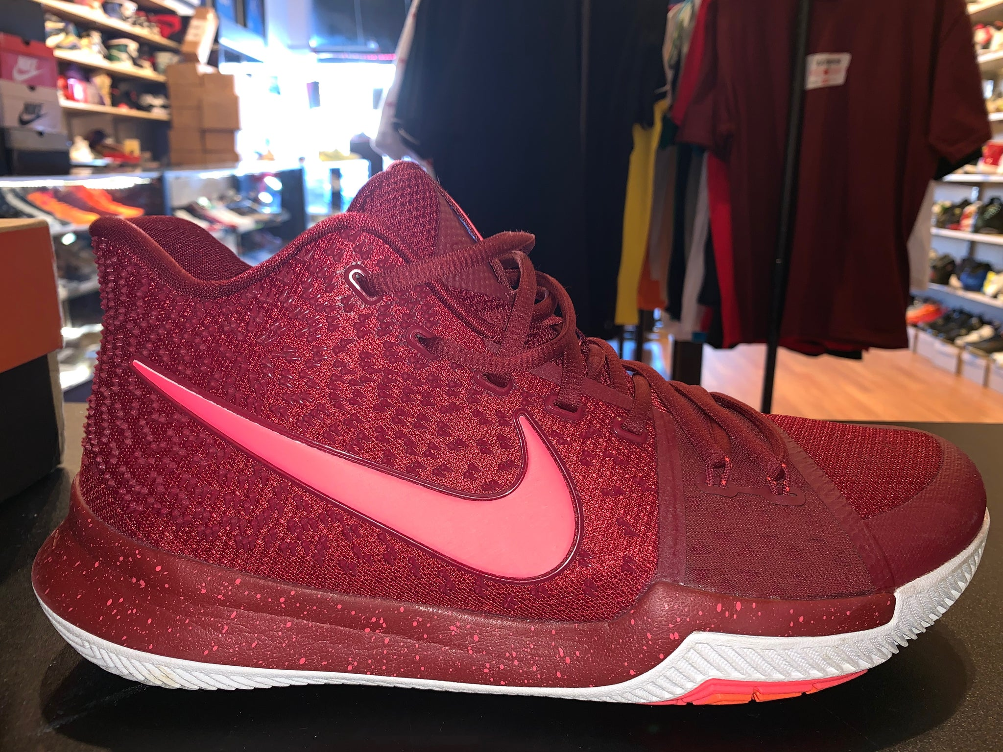"Size 12 Kyrie 3 ""Team Red"""