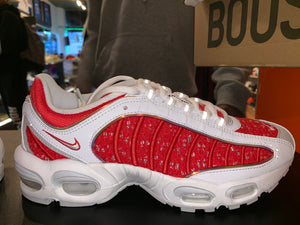 "Size 8 Air Max Tailwind 4 ""Supreme White"""