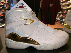 "Size 12 Air Jordan 8 ""Champagne"" Brand New"