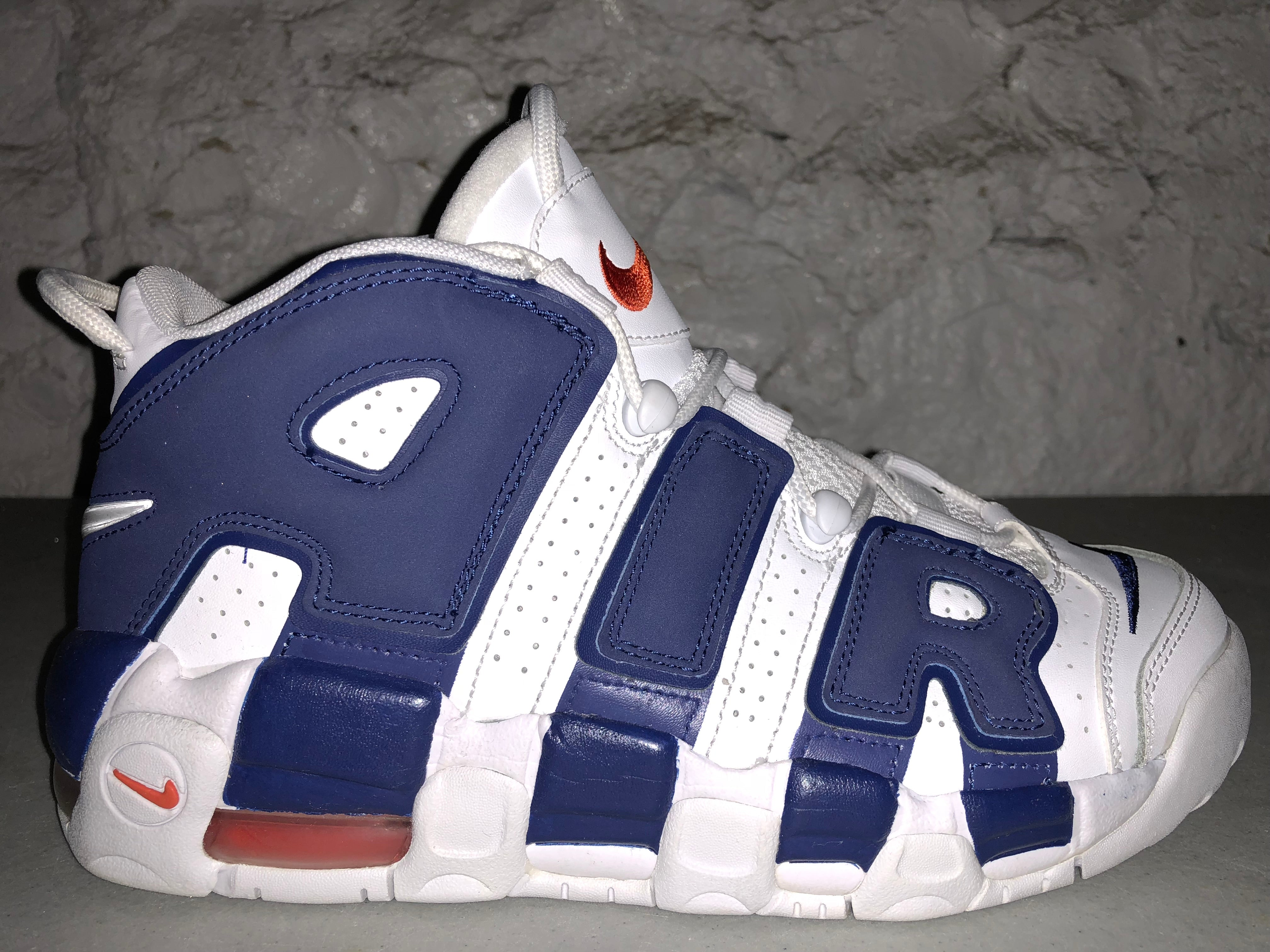 "Size 7Y Air More Uptempo ""Deep Royal"""