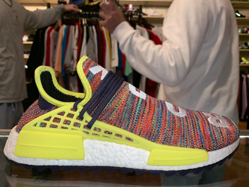 "Size 11.5 Adidas Human Race NMD Pharrell ""Multicolor"" Brand New"