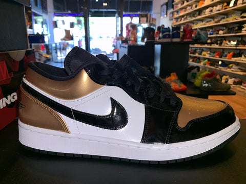 "Size 11 Air Jordan 1 Low ""Gold Toe"" Brand New"
